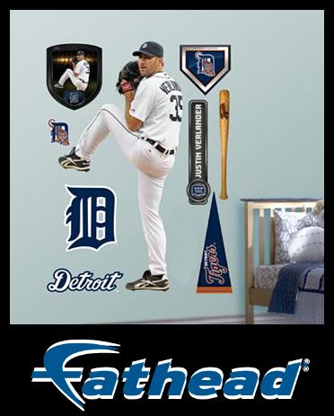 Detroit Tigers Justin Verlander Fathead