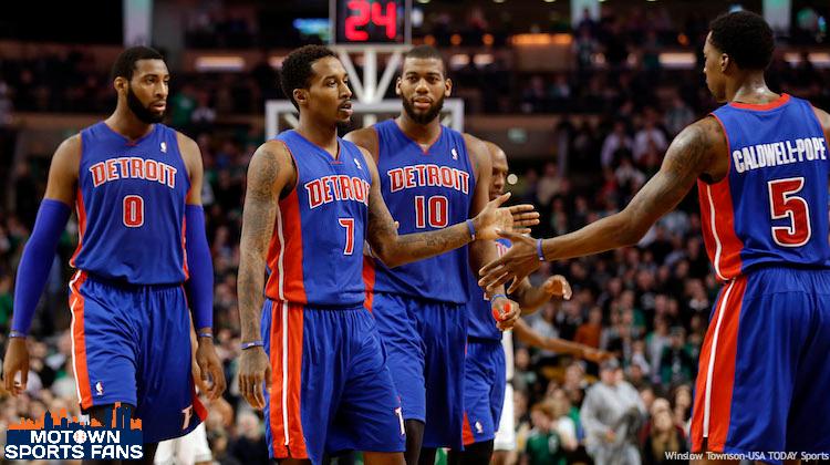 Detroit Pistons Tank 2014 Season