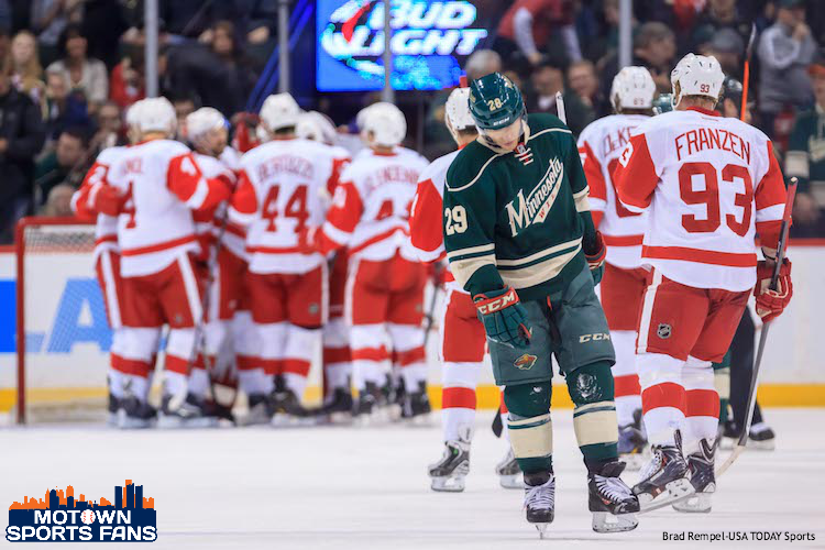 Detroit Red Wings Playoffs 2014