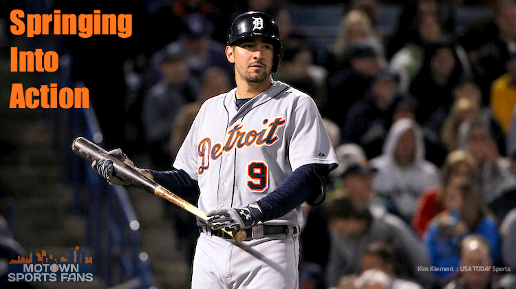 Nick Castellanos Detroit Tigers Third Base 2014 feature