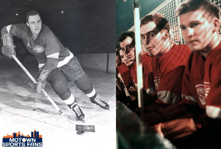 Retire Len Red Kelly Number 4 Detroit Wings