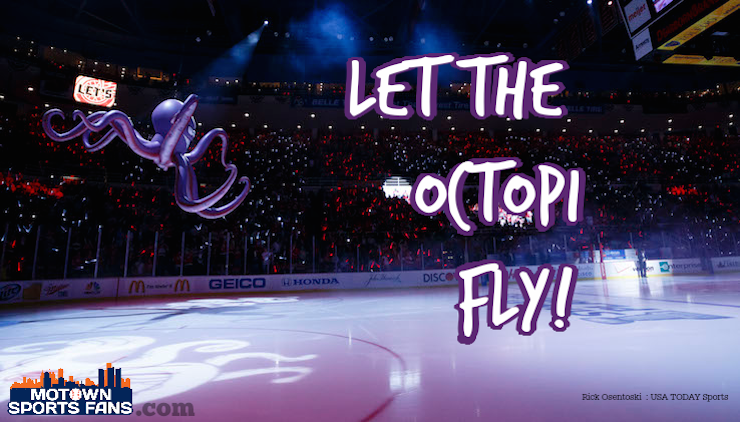 Red Wings 2014 Stanley Cup Playoffs Octopus New NHL Playoff Seeding Rules