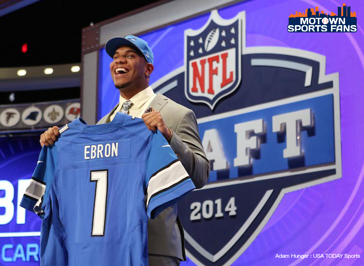 Detroit Lions Ebron First Round Draft Pick 2014
