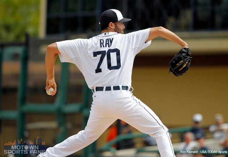 Robbie Ray detroit tigers debut win