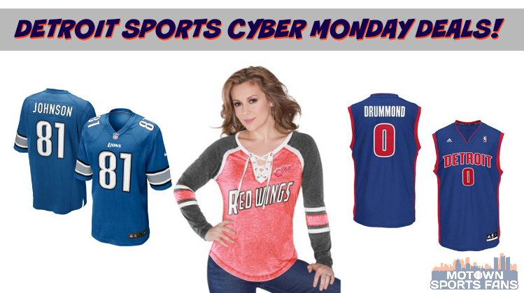 Cyber Monday Detroit Sports Deals